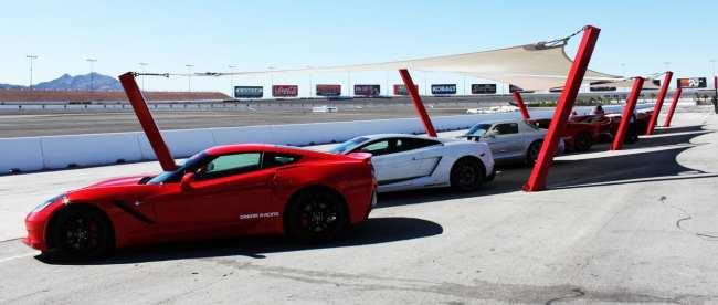 Las Vegas Dream Racing - Preparando para a corrida