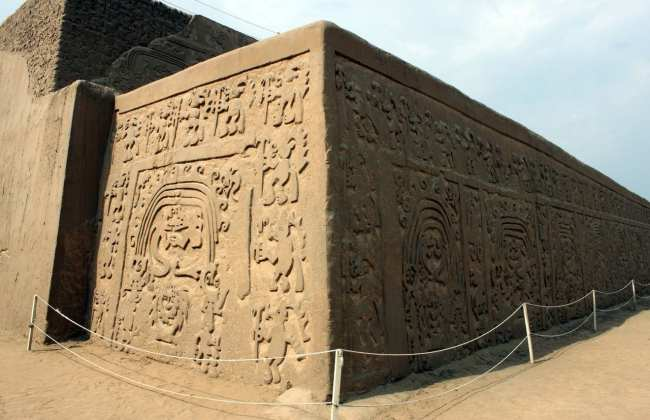 Sítios Arqueológicos de Trujillo - Huaca Arco Iris ou Del Dragón 3