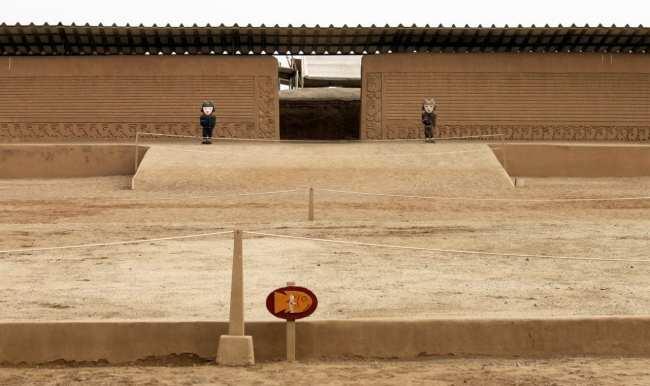 Chan Chan Patrimônio da Unesco - Entrada 2