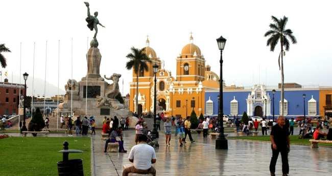 Onde comer em Trujillo - Plaza de Armas