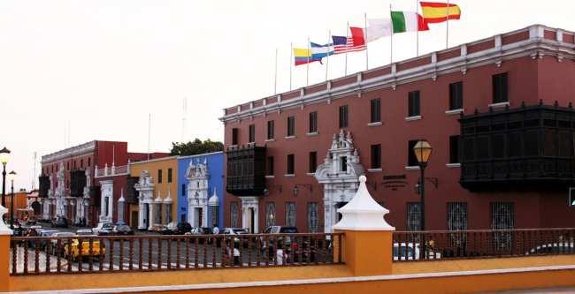 Onde ficar em Trujillo - Hotel Libertador Plaza de Armas