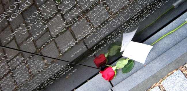 Roteiro de 3 dias em Washingtion - Vietnam Memorial
