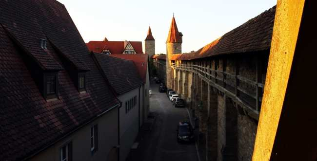 Rothenburg - Muralhas
