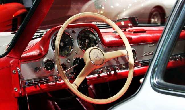 Stuttgart - Museu da Mercedes-Benz Asa de Gaivota 1