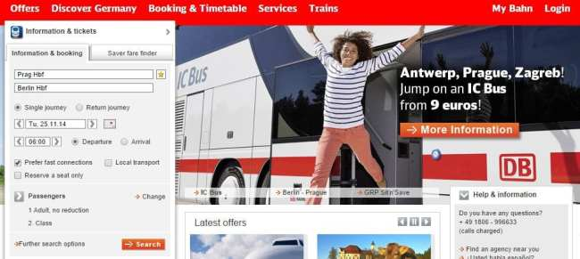 Como ir de Praga a Berlim - Deutsche Bahn 1