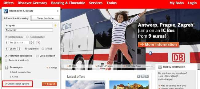 Como ir de Praga a Berlim - Deutsche Bahn 11