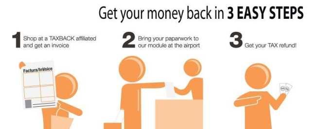 Como conseguir o tax free / tax refund no méxico - Tax Back 1