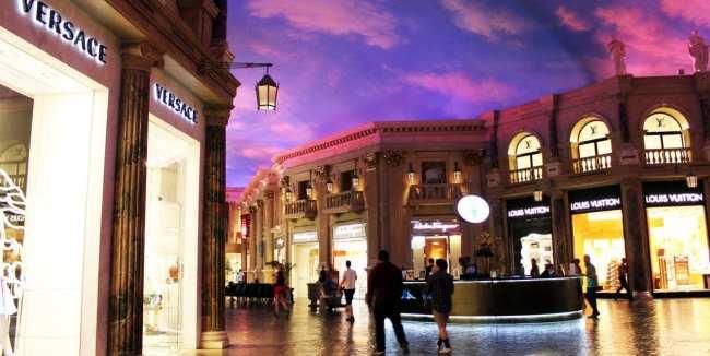 10 Dicas de compras em Las Vegas - The Forum at Caesar's