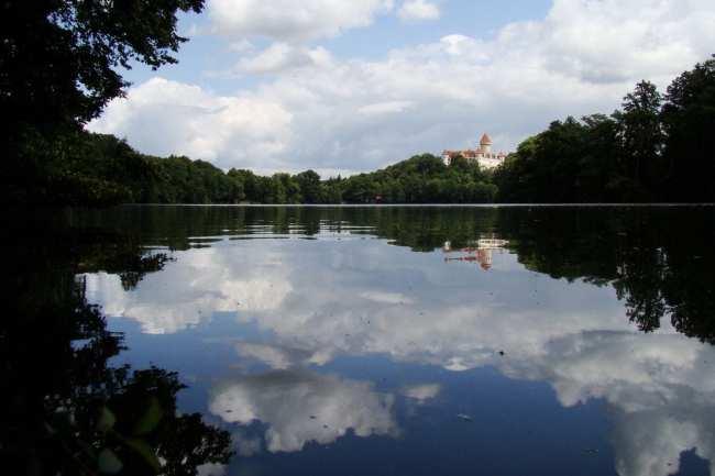 Bate e volta de Praga - Chateau Konopiste