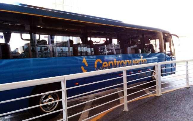 Como ir do aeroporto ao centro de Santiago - Centrobus