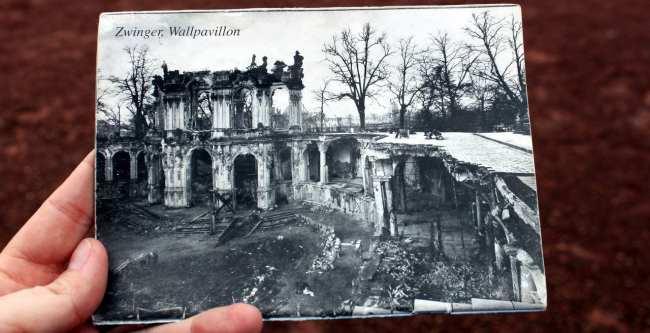 Dicas de viagem a Dresden - Cidade Velha Alstadt Zwinger após bombardeio da 2a guerra