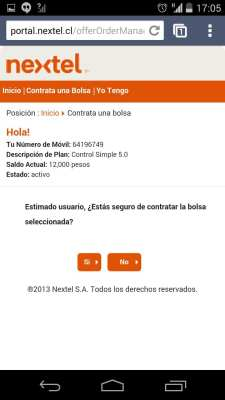 Como conseguir Internet 3G no Chile - Nextel 4