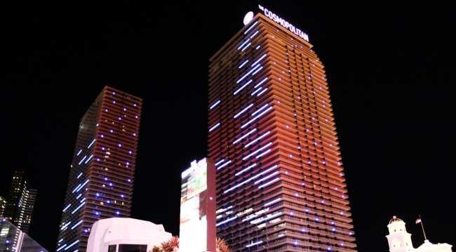 The Cosmopolitan Las Vegas - Vista do prédio