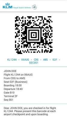 Dicas KLM Viagem - Tecnologia app