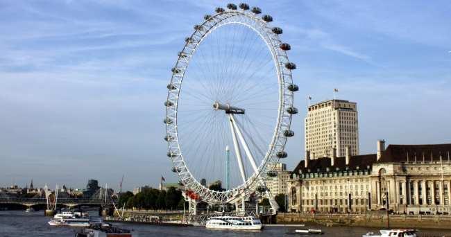 Guia de Londres KLM - London Eye