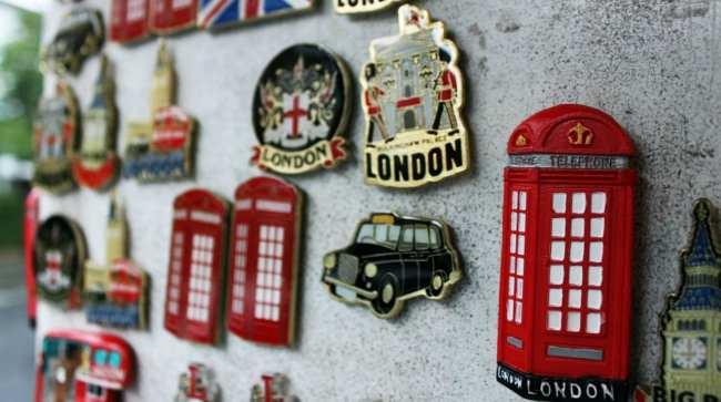 Guia de Londres KLM - souvenir 2