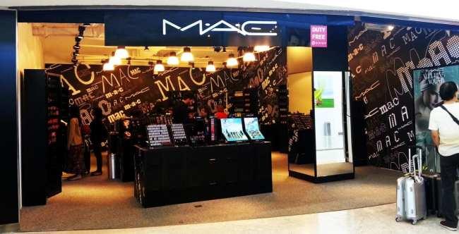 Novo Terminal 3 do Aeroporto de Guarulhos - lojas MAC