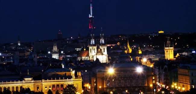 De onde ver Praga do alto - Castelo de Praga 2