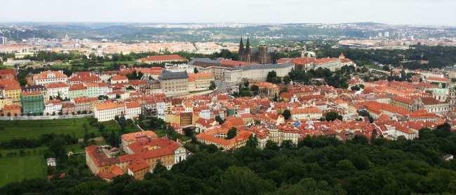 De onde ver Praga do alto - Petrín 2