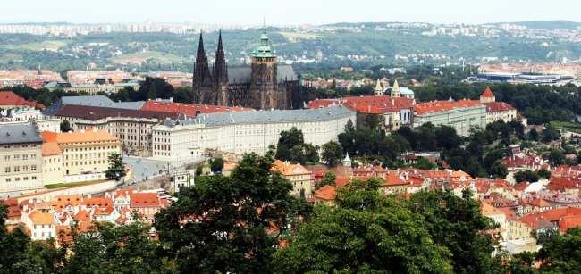 De onde ver Praga do alto - Petrín 4