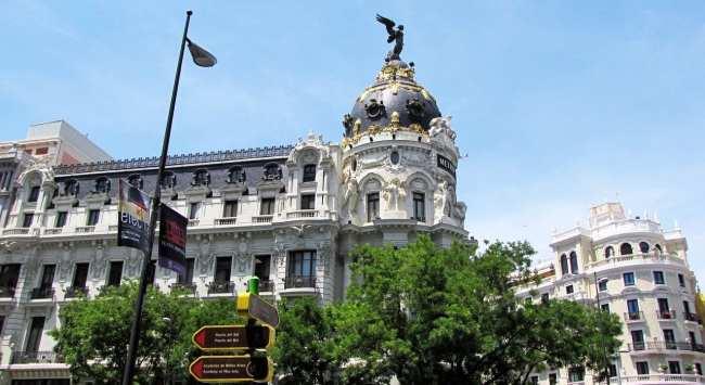 Guia KLM de Madri - Edifício Metropolitan