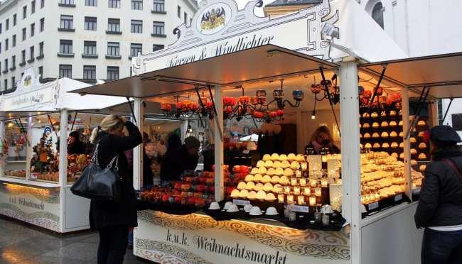 Guia KLM de Viena - Mercado de Natal 2