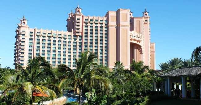 Atlantis Resort Bahamas - Vista do Complexo
