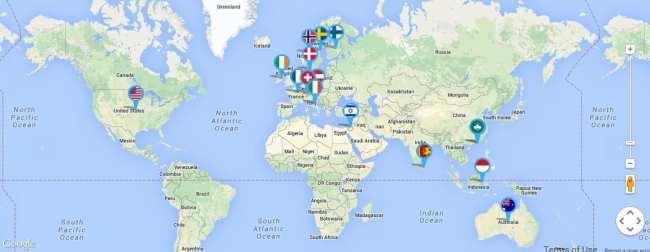 Operadora 3g para vários países na Europa - Three
