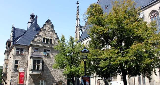 Roteiro de Leipzig - Igreja de Saint Thomas