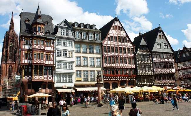Roteiro segunda viagem a Frankfurt - Romerberg