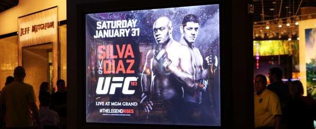 Como é assistir ao UFC em Las Vegas - Anderson Silva vs Nick Diaz 1