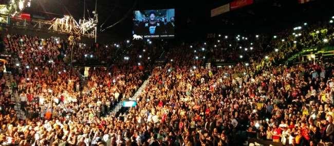 Como é assistir ao UFC em Las Vegas - Anderson Silva vs Nick Diaz 10