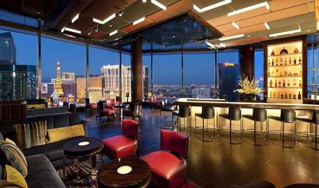 De onde ver Las Vegas do alto - Bar do Mandarin Oriental
