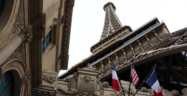 De onde ver Las Vegas do alto - Torre Eiffel de Las Vegas 5