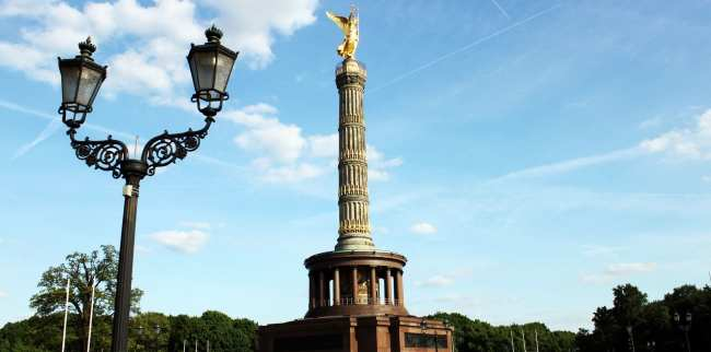 Bus 100 City Tour em Berlim - Coluna da vitória