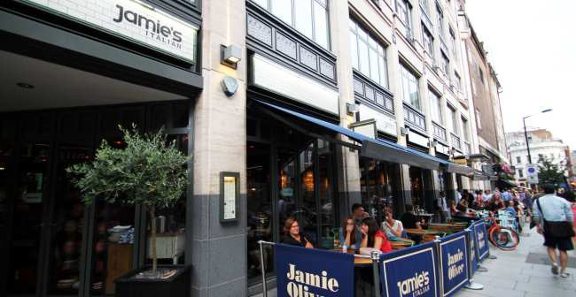 Onde comer barato em Londres - Jamie's Italian