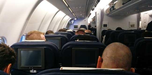 Como é voar de South African Airways - aviao 1