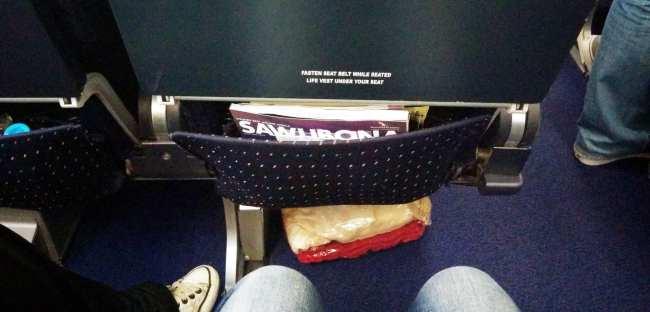 Como é voar de South African Airways - aviao 2