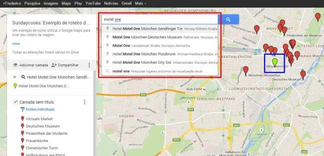 Como fazer roteiros de viagem com o Google Maps - 04