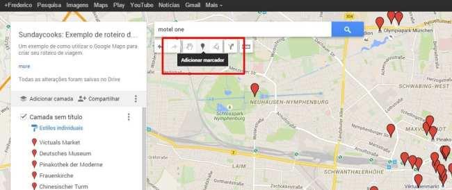 Como fazer roteiros de viagem com o Google Maps - 05