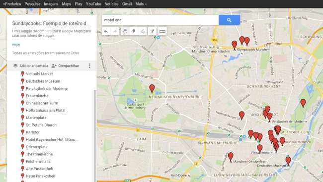 Como fazer roteiros de viagem com o Google Maps - 09