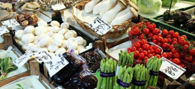 Onde comer em Viena - Mercado Naschmarkt 2
