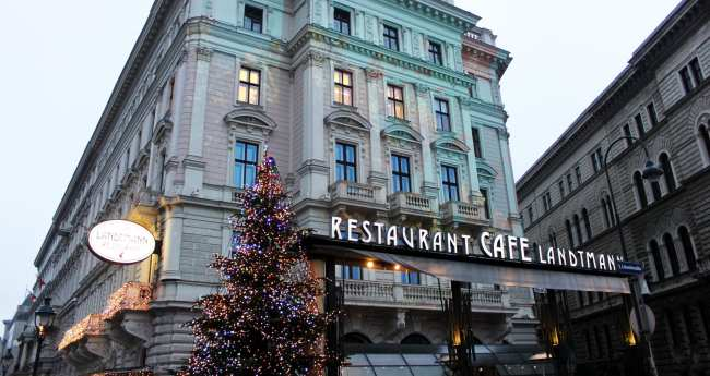Onde comer em Viena - Café Restaurant Landtmann