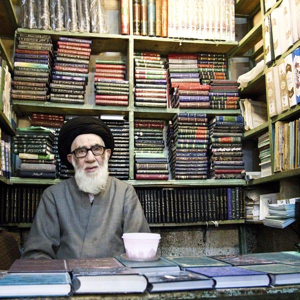 Mulá em Tabriz