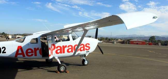 Sobrevoo pelas linhas de Nazca - aeroparacas