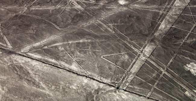 Sobrevoo pelas linhas de Nazca - aranha