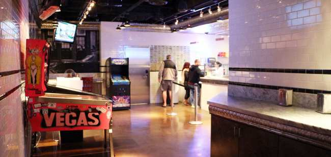 Onde comer em Las Vegas - Secret Pizza 2