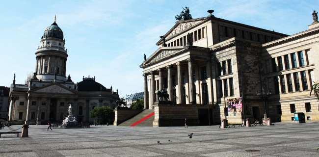 Atrações de Berlim - Gendarmenmarkt 2