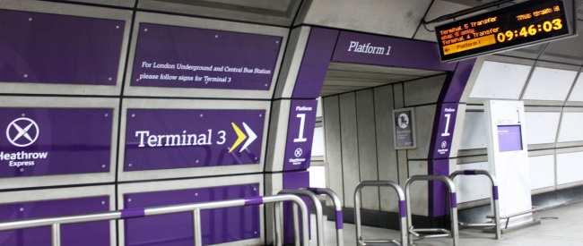 Como ir do aeroporto ao centro de Londres - Heathrow Express 4