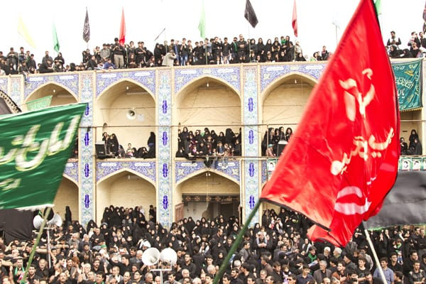 Ashura Povo no Hosseinieh